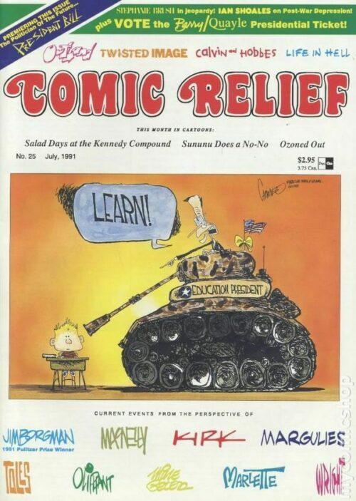 1991 Comic Relief #25