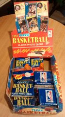 1991 Fleer NBA Basketball Box02