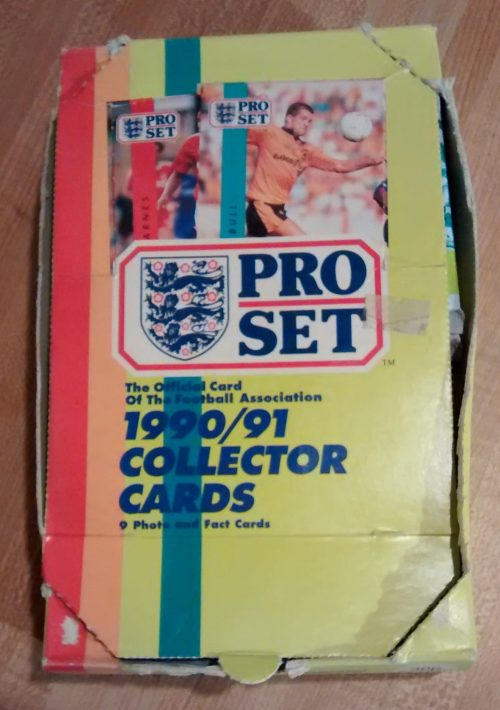 1991 Pro Set Collector Cards Box