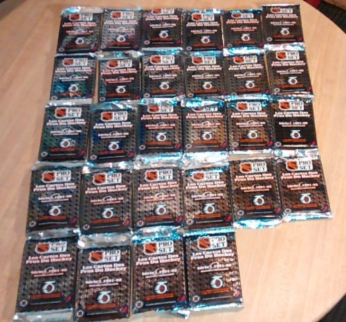 1991 Pro Set Hockey Cards NHL French Edition - 28 Packs