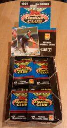 1991 Topps Stadium Club Series 2 Baseball Box02