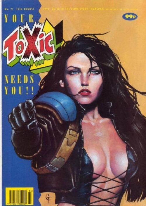 1991 Toxic #21