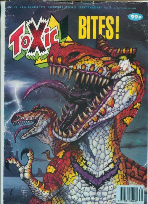 1991 Toxic #22