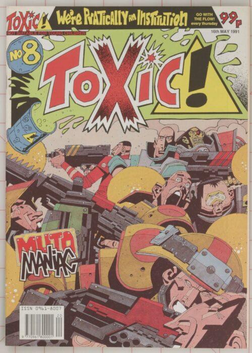 1991 Toxic #8