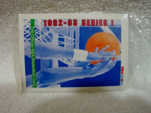 1992-93 Series 1 NBA Hoops Basketball Promo Card