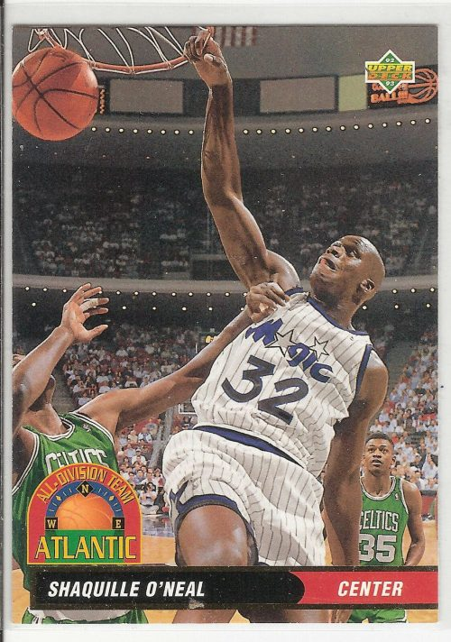 1992-93 UPPER DECK #AD1 SHAQUILLE O'NEAL ROOKIE CARD