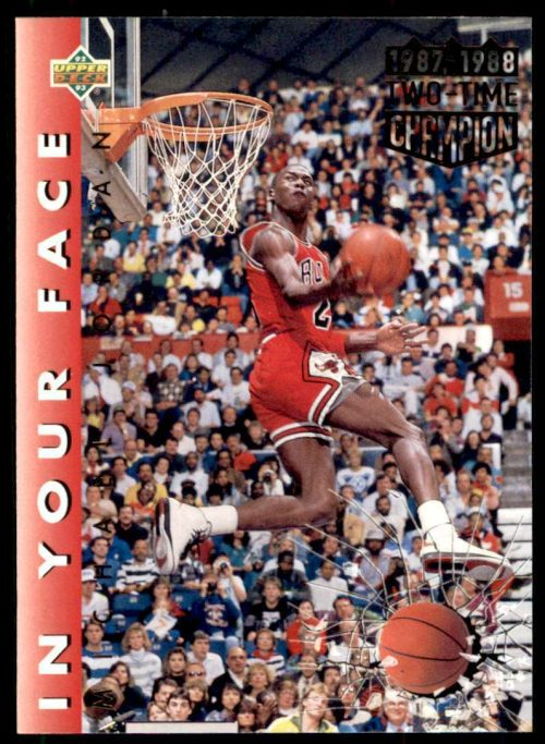1992-93 Upper Deck Michael Jordan Chicago Bulls #453