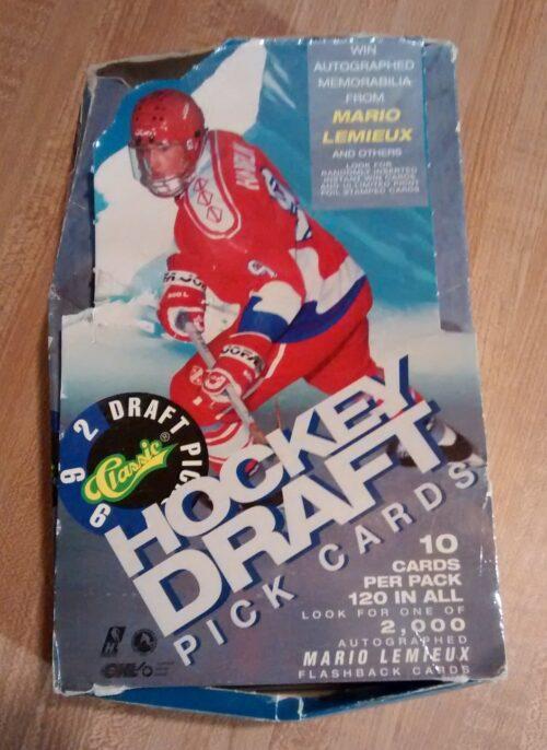 1992 Classic Draft Pick Cards Box