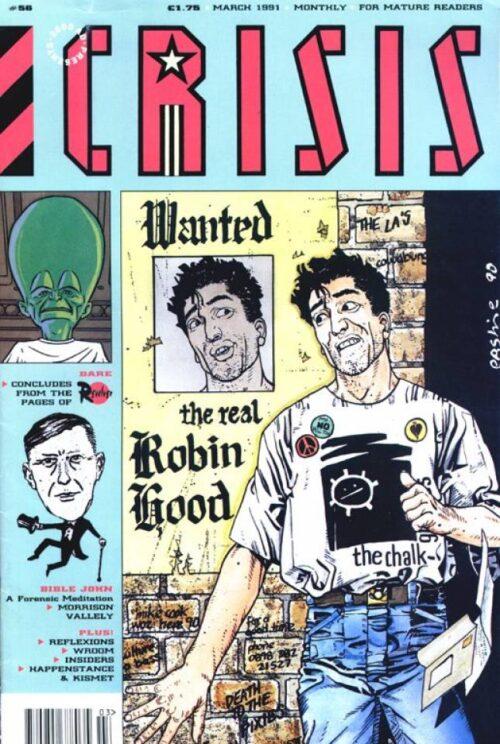 2000 AD Presents CRISIS Comic - No 56