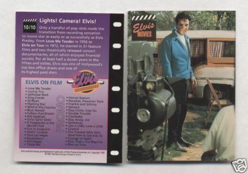 Elvis Promo Card #10