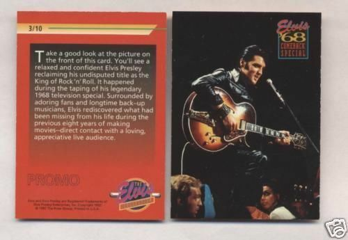Elvis Promo Card #3