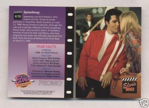 Elvis Promo Card #4