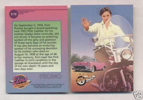 Elvis Promo Card #5