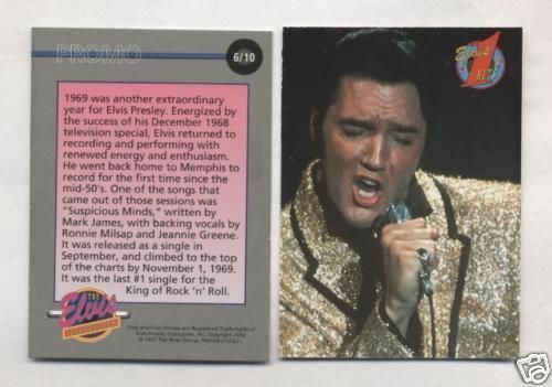 Elvis Promo Card #6