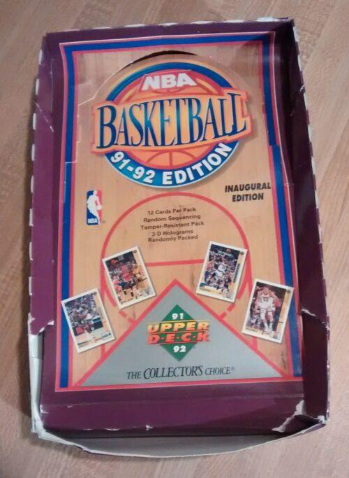 1991-92 Upper Deck NBA Basketball Inaugural Edition Box02