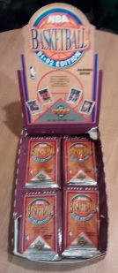 1991-92 Upper Deck NBA Basketball Inaugural Edition Box