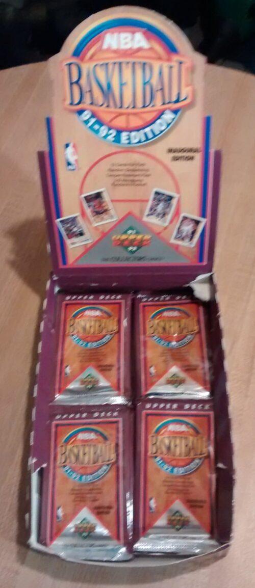 1991-92 Upper Deck NBA Basketball Inaugural Edition Box