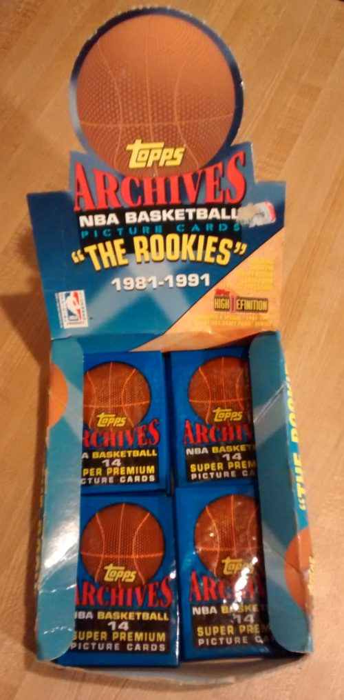 1993 Topps Archives NBA Basketball 'The ROOKIES' Box02