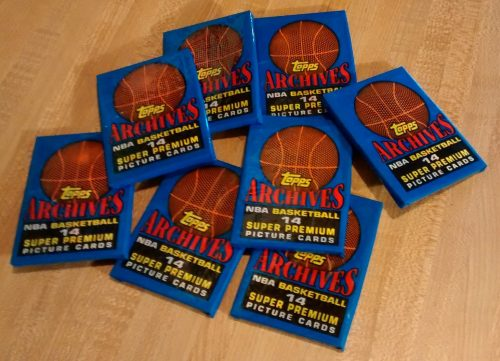 1993 Topps Archives NBA Basketball 'The ROOKIES' - 8 Factory Sealed Packs