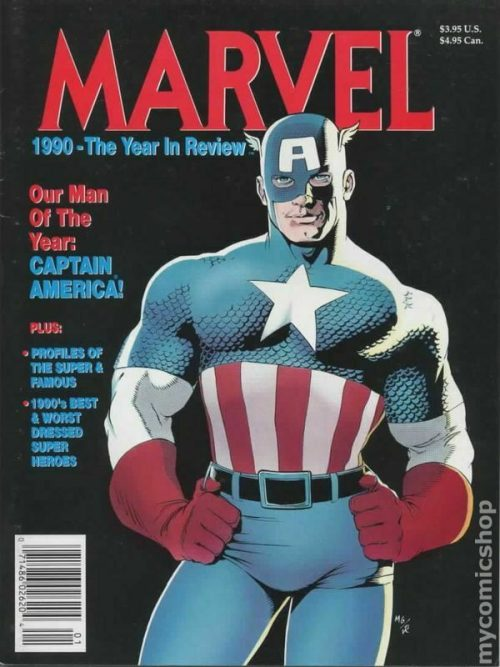 Marvel 1990 The Year In Review
